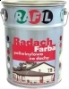 Paint for painting the roof RADACH aluminum 0,8L